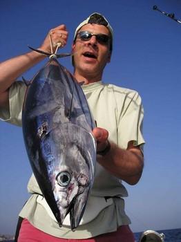 10/06 skipjack tuna Cavalier & Blue Marlin Sport Fishing Gran Canaria