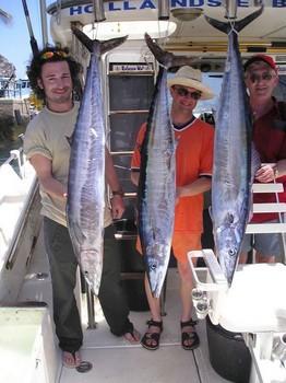 28/06 wahoo Cavalier & Blue Marlin Sport Fishing Gran Canaria