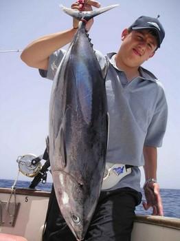 03/07 albacore tuna Cavalier & Blue Marlin Sport Fishing Gran Canaria