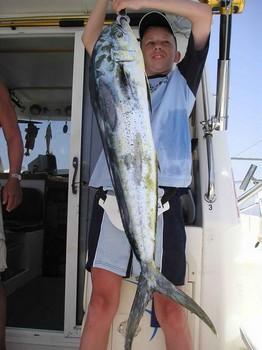25/07 dorado Cavalier & Blue Marlin Sport Fishing Gran Canaria