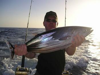 21/08 albacore tuna Cavalier & Blue Marlin Sport Fishing Gran Canaria
