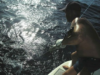 23/08 hooked up Cavalier & Blue Marlin Sport Fishing Gran Canaria