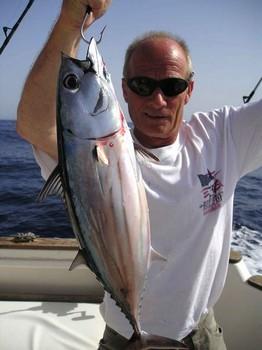 28/08 skipjack tuna Cavalier & Blue Marlin Sport Fishing Gran Canaria