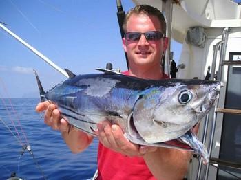 06/10 skipjack tuna Cavalier & Blue Marlin Sport Fishing Gran Canaria