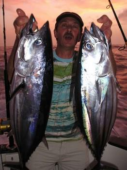 20/10 skipjack tuna Cavalier & Blue Marlin Sport Fishing Gran Canaria