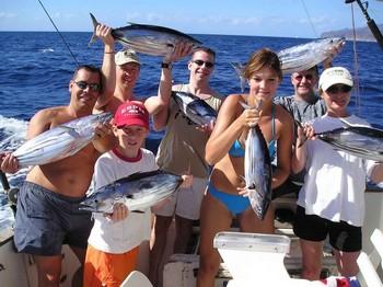 31/10 happy fishermen Cavalier & Blue Marlin Sport Fishing Gran Canaria