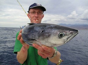 07/11 skipjack tuna Cavalier & Blue Marlin Sport Fishing Gran Canaria