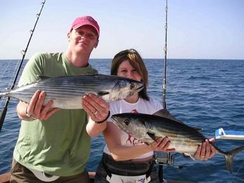 22/01 north atlantic bonito Cavalier & Blue Marlin Sport Fishing Gran Canaria