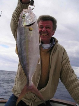 30/01 amberjack Cavalier & Blue Marlin Sport Fishing Gran Canaria