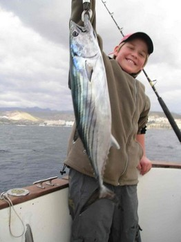 05/02 north atlantic bonito Cavalier & Blue Marlin Sport Fishing Gran Canaria