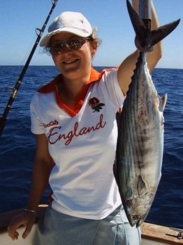 25/03 north atlantic bonito Cavalier & Blue Marlin Sport Fishing Gran Canaria