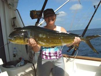 28/04 dorado Cavalier & Blue Marlin Sport Fishing Gran Canaria