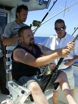 15/06 hooked up Cavalier & Blue Marlin Sport Fishing Gran Canaria
