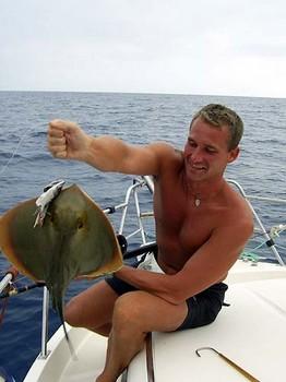 18/06 common stingray Cavalier & Blue Marlin Sport Fishing Gran Canaria