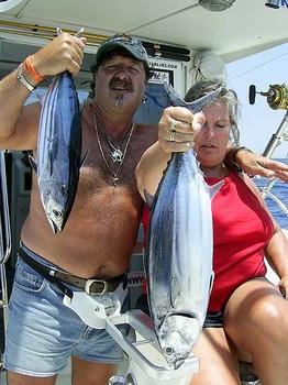 21/06 skipjack tuna Cavalier & Blue Marlin Sport Fishing Gran Canaria