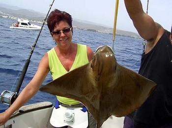 27/06 rayo de águila Pesca Deportiva Cavalier & Blue Marlin Gran Canaria