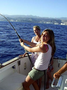 02/07 hooked up Cavalier & Blue Marlin Sport Fishing Gran Canaria