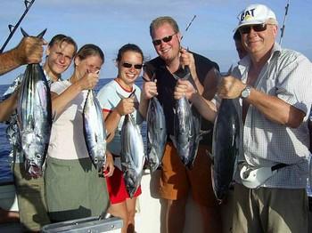 26/07 happy fishermen Cavalier & Blue Marlin Sport Fishing Gran Canaria