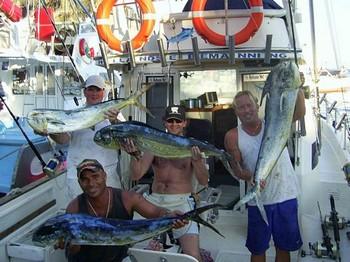 28/07 dorado Cavalier & Blue Marlin Sport Fishing Gran Canaria