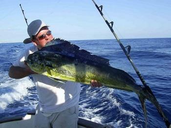 29/07 dorado Cavalier & Blue Marlin Sport Fishing Gran Canaria