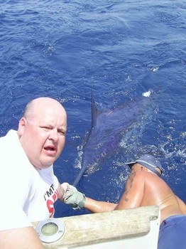 07/08 blue marlin Cavalier & Blue Marlin Sport Fishing Gran Canaria