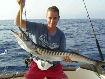 23/08 baracuda Cavalier & Blue Marlin Sport Fishing Gran Canaria