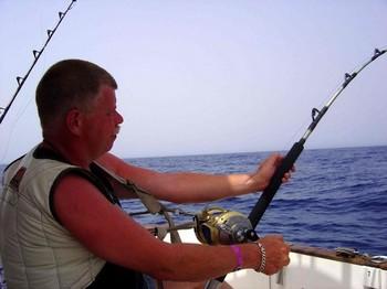 04/09 enganchado Pesca Deportiva Cavalier & Blue Marlin Gran Canaria
