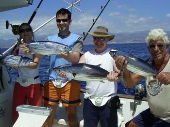14/09 atún listado Pesca Deportiva Cavalier & Blue Marlin Gran Canaria
