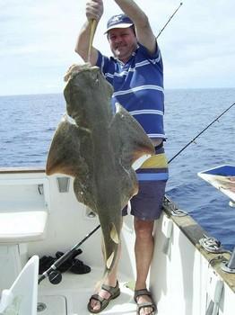 18/10 angel shark Cavalier & Blue Marlin Sport Fishing Gran Canaria