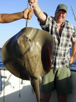 29/10 round stingray Cavalier & Blue Marlin Sport Fishing Gran Canaria