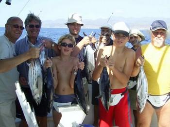 03/11 skipjack tuna Cavalier & Blue Marlin Sport Fishing Gran Canaria