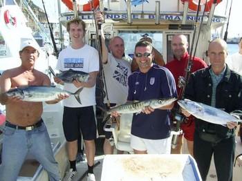 15/01 north atlantic bonito Cavalier & Blue Marlin Sport Fishing Gran Canaria