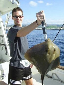 04/02 common stingray Cavalier & Blue Marlin Sport Fishing Gran Canaria