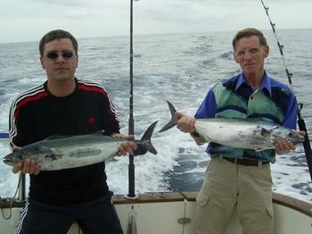 15/02 north atlantic bonito Cavalier & Blue Marlin Sport Fishing Gran Canaria