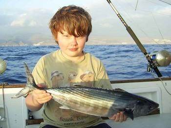 16/02 north atlantic bonito Cavalier & Blue Marlin Sport Fishing Gran Canaria