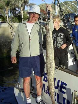 23/02 mediteranean moray Cavalier & Blue Marlin Sport Fishing Gran Canaria