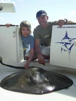 25/02 round stingray Cavalier & Blue Marlin Sport Fishing Gran Canaria