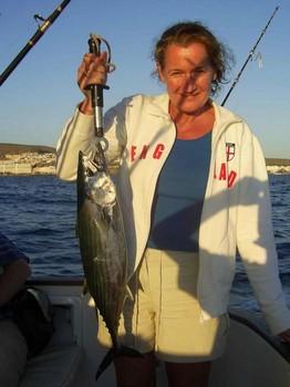 04/03 north atlantic bonito Cavalier & Blue Marlin Sport Fishing Gran Canaria