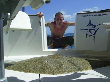 05/03 butterfly ray Cavalier & Blue Marlin Sport Fishing Gran Canaria