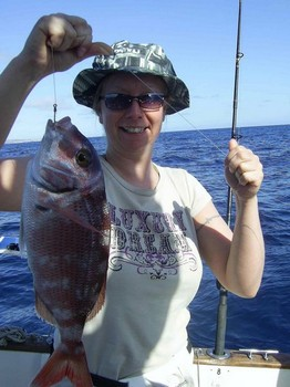 16/03 redbanded seabream Cavalier & Blue Marlin Sport Fishing Gran Canaria