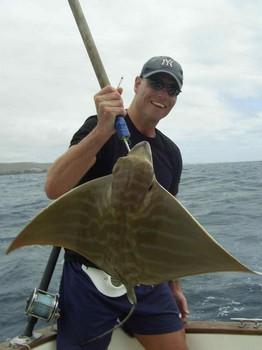 17/03 duckbill ray Cavalier & Blue Marlin Sport Fishing Gran Canaria