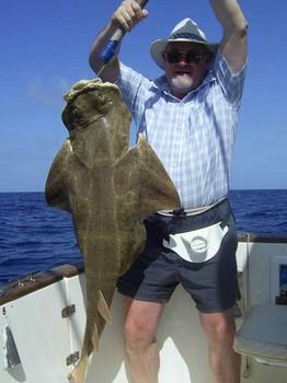 19/03 angel shark Cavalier & Blue Marlin Sport Fishing Gran Canaria
