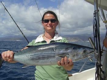 20/03 north atlantic bonito Cavalier & Blue Marlin Sport Fishing Gran Canaria