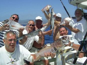 28/03 hooked up Cavalier & Blue Marlin Sport Fishing Gran Canaria