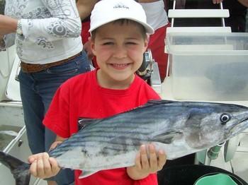 04/04 north atlantic bonito Cavalier & Blue Marlin Sport Fishing Gran Canaria