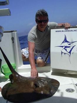 02/05 round stingray Cavalier & Blue Marlin Sport Fishing Gran Canaria