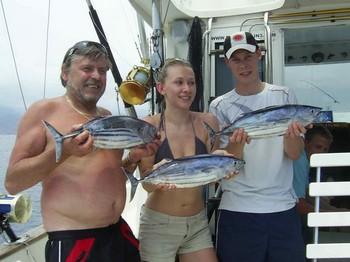11/05 skipjack tuna Cavalier & Blue Marlin Sport Fishing Gran Canaria