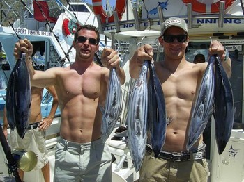 13/05 skipjack tuna Cavalier & Blue Marlin Sport Fishing Gran Canaria