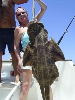 21/05 angel shark Cavalier & Blue Marlin Sport Fishing Gran Canaria