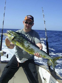 23/05 dorado Cavalier & Blue Marlin Sport Fishing Gran Canaria